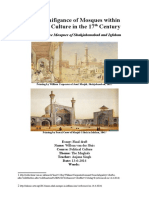 The Political Significance of Mosques in the 17th Century