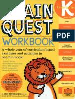 Workbook Kindergarten