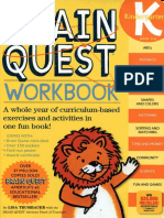 Workbook Kindergarten