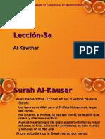 Entendiendo el quran para niños Lección 3a