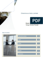 Cheminova India Limited