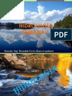 SEMANA 1 Hidrologia