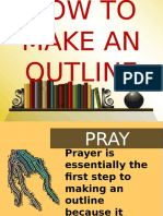 How to Make an Outline (counterflow)