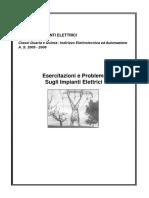 Esercitazioni Impianti Elettrici.pdf