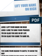 Lord I lift your name on high.pps