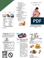 Leaflet Nutrisi Ibu Menyusui