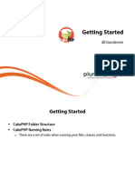 3 Introduction Php Mvc Cakephp m3 Getting Started Slides