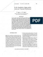 Models for Insulation Aging Under Electrical and Thermal Multistress