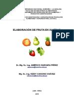 Separata Fruta en Almibar- Universidad LA MOLINA