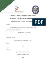 Monografía Matemática Financiera III