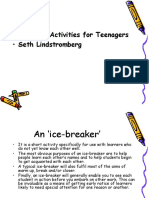 Language Activites for Teenagers 2014 6