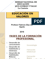 Diapositiva Educacion en Valores i