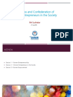 Awareness and Confederation of  Women Entrepreneurs in the Society