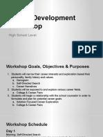 High School Career Development Workshop