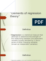 Math (Regression Theory)