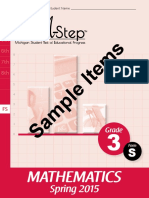 mathematics paper-pencil sample item set-grade 3 484479 7