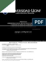Administracion de Proyectos y Gestion Obras 2011 .ppt