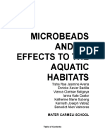 Research Paper (Microbeads)