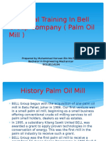 Industrial Training In Bell Group Company ( Palm.pptx