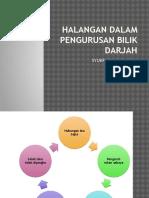 Halangan Dalam Pengurusan Bilik Darjah