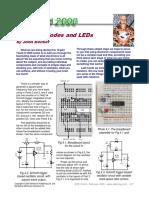 4. Diodos y LEDs