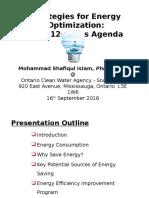 Energy Optimization-MS Islam OCWA