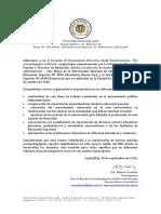 Cátedra Abierta Intercultural. Adhesión