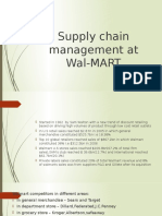 Supply Chain Management at Wal-MART_viplav