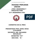 Cementos en Perú