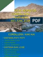 Recursos Hidricos Potosí 2007