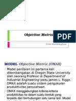 P7 - Anprod - Objective Matrix (OMAX).pptx