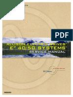 AED Drive Unit Service Manual SM 3602 200708
