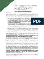 1. Importancia Del Personal en Inocuidad Alimentaria en Produccion Avicola