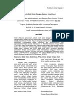 Sintesis Metil Ester Dengan Metode Esterifikasi