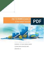 Monografía de Intermediacion Financiera