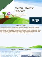 Volcán El Monte Tambora Presentacion