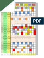 2016Training Schedule