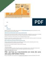 Proyección de Crecimiento Económico Del Perú Cada Vez Se Reduce Más