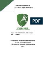 Sistem Operasi dengan aplikasi CPU-Simulator