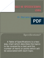 Tableofspecifications2013 Copy 130416030823 Phpapp02