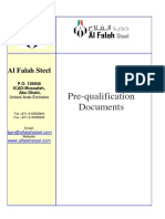 Al Falah Steel Pre-Qualification 2016