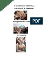 Realidad Nacional de Guatemala