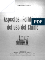 Dupoy - Aspectos Folkloricos Del Uso Del Chimó