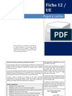 12. Ficha - Papel y Carton