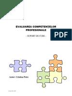 Suport Curs Evaluator Competente