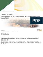 1.2. Ultrasite GSMEDGE BTS Unit Description Spanish