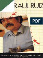 Hacia una filmografía de Raul Ruiz