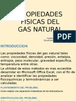 Propiedades Fisicas Del Gas Natural Pwr .Point