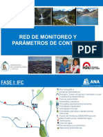 Red de Monitoreo y Parámetros Control