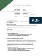 RPP Lks Evaluasi Penyetaraan Reaksi Redoks Dengan Setengah Reaksi